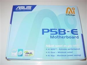 Asus P5B-E Box Front