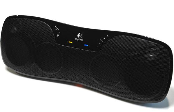 Logitech S Wireless Boombox Good Vibrations Via Bluetooth
