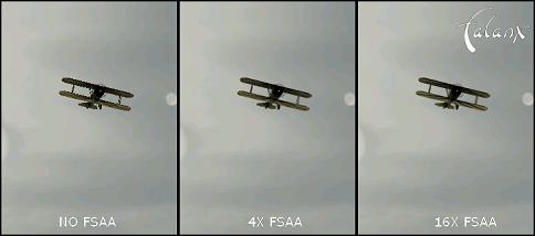 biplane FSAA Render