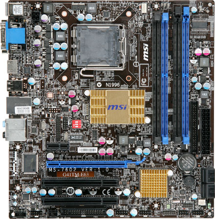MSI P41T-C31 Intel Matrix Storage Manager 64Bit