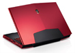 Alienware All Powerful M17x Goes Nebula Red