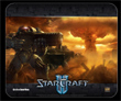 StarCraft II Gaming Surfaces Exemplify Geek Lust