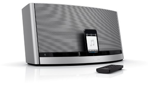 bose v30. that\u0027s about as detailed bose gets, but the company does make clear that this works fine with any click-wheel ipod, ipod touch, iphone, iphone 3g and/or v30