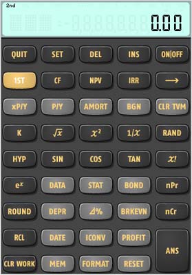 Texas Instruments Intros BAII Plus Calculator App For The iPhone