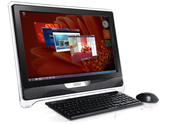 msi 39 s wind top ae2220 all in one pc now shipping hothardware. Black Bedroom Furniture Sets. Home Design Ideas