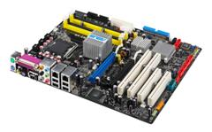 ASUS Main Station Motherboard Series with Intel 975X Chipset