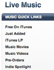 Live Music Recordings Come To iTunes, Broke Fans Rejoice