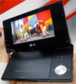 LG's DP570MH Portable Television Handles Mobile DTV And DVD