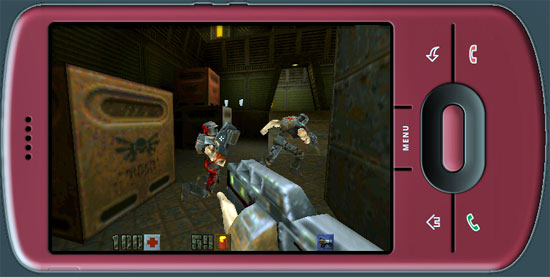 Forget About Doom: Quake 2, 3 Up And Running on Motorola Droid