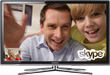 Samsung Shovels Skype into LED 7000 and 8000 Series HDTVs