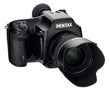 Pentax Unleashes First Medium-Format DSLR: 645D