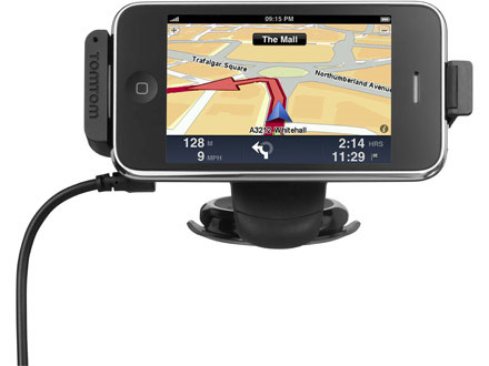 TomTom 1 3 iPhone GPS Update Adds Real-Time Traffic And More