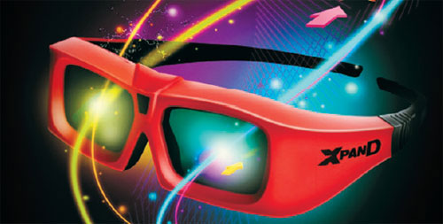 Universal 3dtv Glasses Coming This Summer From Xpand