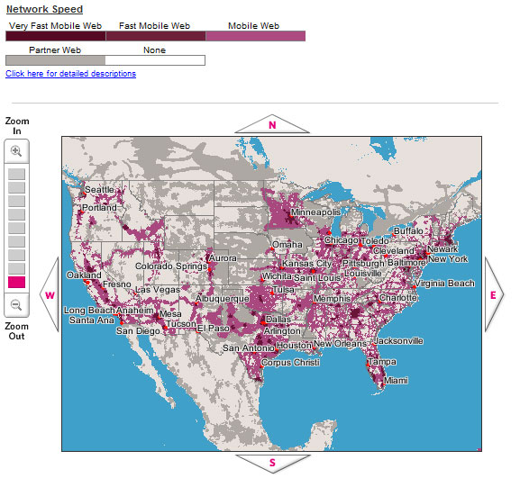Cricket Wireless Coverage Map – name