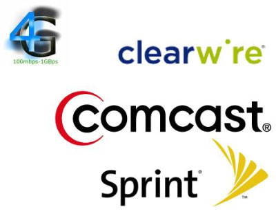 Clearwire Comcast Sprint Announce Plans For Expanded 4g