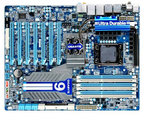 Gigabyte's Latest X58 Board Boasts a 24-Phase Design