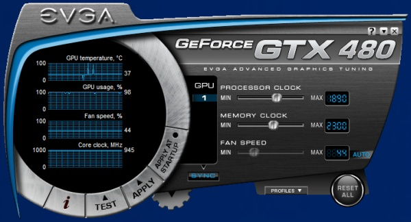 EVGA GTX 480 Hydro Copper FTW Makes Some Noise (Quietly