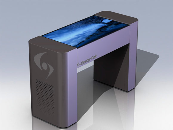 Gesturetek Goes Large With 42 Quot Multi Touch Table And 70