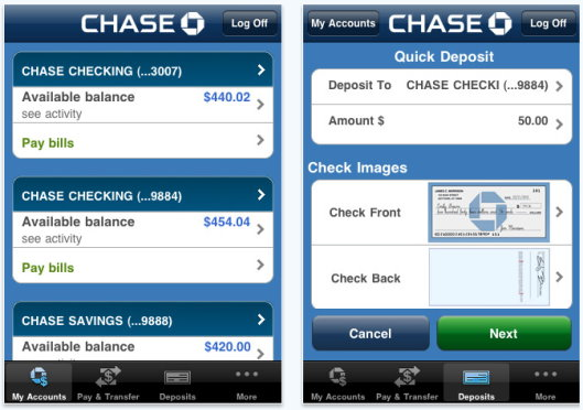 Jul 27,  · Download a mobile deposit app. Check to see if your bank features a mobile deposit app for your tablet or smart phone. Chase, Bank of America, Citibank, and other banks have developed apps for mobile devices that make depositing a check as simple as taking a picture%(12).