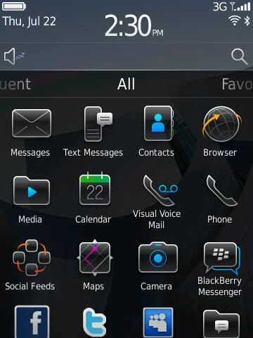 blackberry 10.2.1 operating system