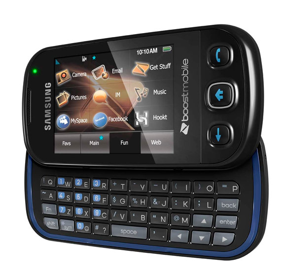 Samsung Seek Is Boost Mobile's First Touch/QWERTY ...
