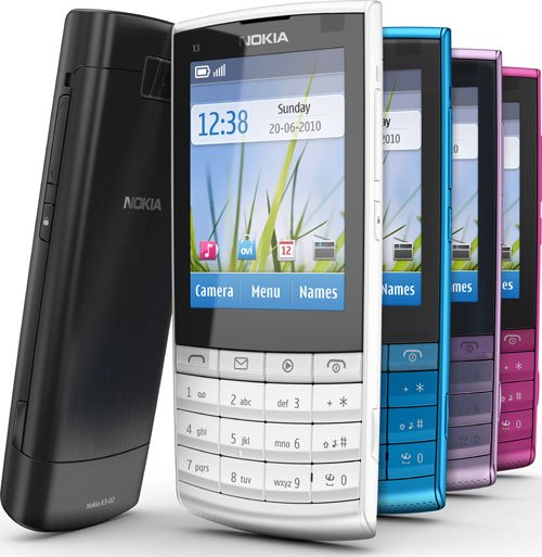 Nokia Combines Keypad With Touch Display In New X3 ...