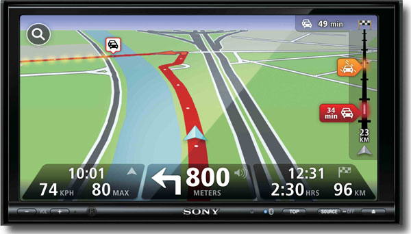 tomtom tricks out sony 39 s xplod nav systems with maps hd traffic hothardware. Black Bedroom Furniture Sets. Home Design Ideas