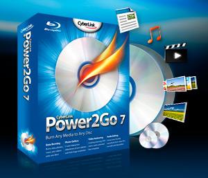 Cyberlink power2go download.