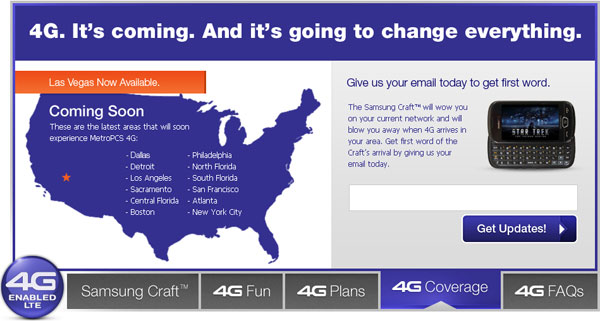 MetroPCS Launches First 4G LTE Network in the U.S. | HotHardware