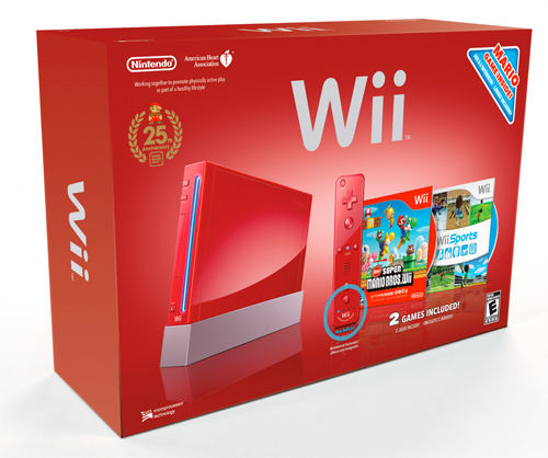 Nintendo Shipping Limited Edition Red Wii And Dsi Xl Consoles Hothardware