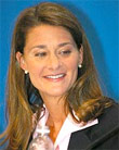 "Melinda Gates Says ""No Apple"" In Her House"