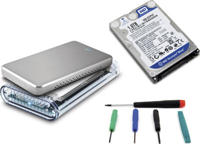 Owc makes it easy to upgrade your notebooks hard drive hothardware owc announces low cost do it yourself diy 1 tb hard drive kits for laptops solutioingenieria Choice Image
