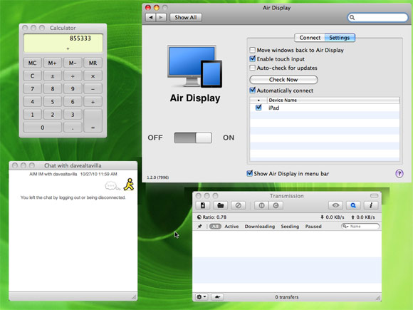 Air Display App Review: Wireless Secondary Monitor For Your Mac or