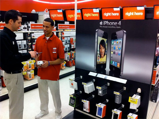 target iphone sale target to sell iphone 4 and iphone 3gs starting next week 13084
