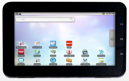 Phenomenal Velocity Micro Reveals 7 Cruz Tablet With Android Hothardware Download Free Architecture Designs Xaembritishbridgeorg