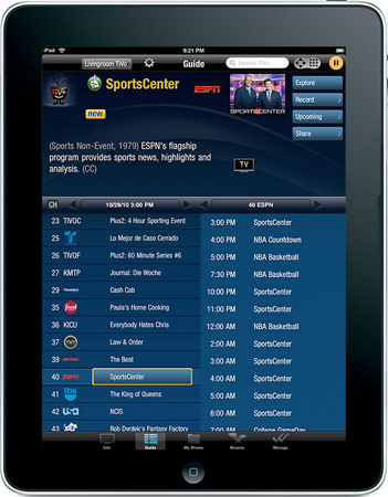 TiVo iPad App Turns Your Tablet Into A Remote | HotHardware