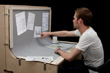 Prototype Workstation Throws An Ergonomic Curveball