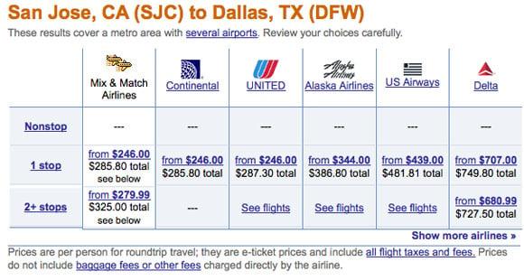orbitz airline tickets