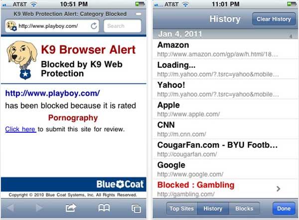 Blue coat k9 web protection