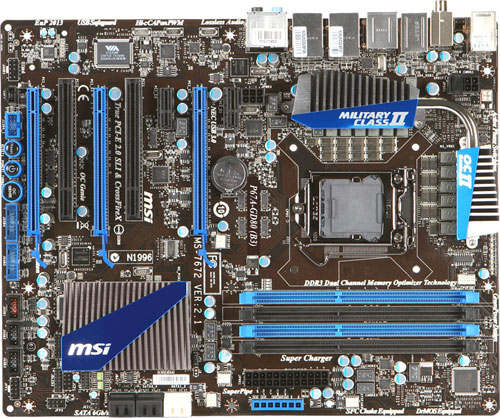 MSI P67A-GD80 (B3) Control Center II Windows 7