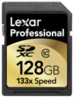 Lexar Media Ships 64GB And 128GB Professional SDXC Cards