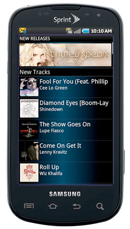 Sprint Music Plus Debuts, Powered By RealNetworks   HotHardware