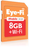Eye-Fi Launches Direct Mode With 8GB Mobile X2 SD Card