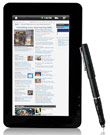 "E FUN Goes Stylus With 7"" Next5 Android 2.1 Tablet"