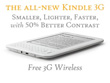 Amazon Reveals Ad-Supported $164 3G Kindle