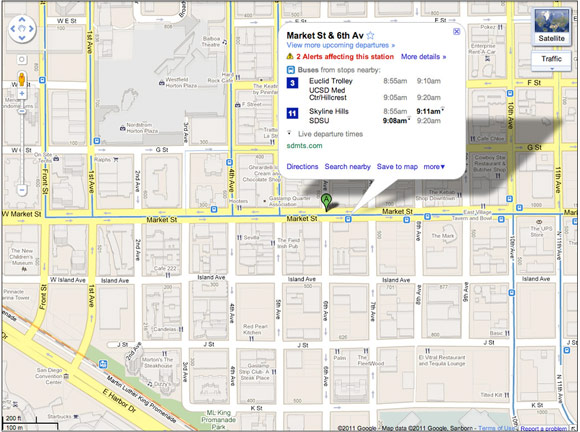 Google Maps Now Updating Live Bus Results In Select Cities | HotHardware