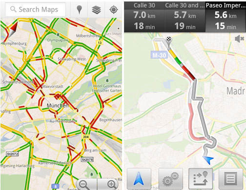 Google Adds Live Traffic To 13 European Nations | HotHardware on