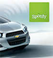Chevy And Spotify Team Up For Giveaways; Integration In The Future?
