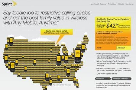 Sprint Considering Family Plans For Data Hothardware