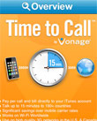 Vonage's Time To Call iPhone App Takes On Skype